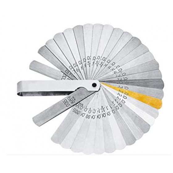 Lang Tools Blade Feeler Gauge Set - 32 Blades