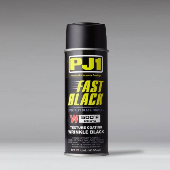 PJ1 FAST BLACK WRINKLE PAINT 500F - 12oz