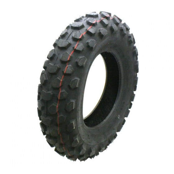 Duro HF910 130/90-10 Knobby Tubeless Tire