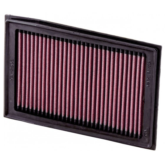 K&N Drop In Air Filter 2008-2012 Kawasaki Ninja 250R & 2013-2015 Ninja 300R KA-2508