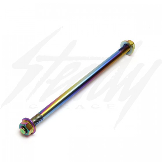 NCY 12mm Titanium Finish Front Axle Honda Ruckus