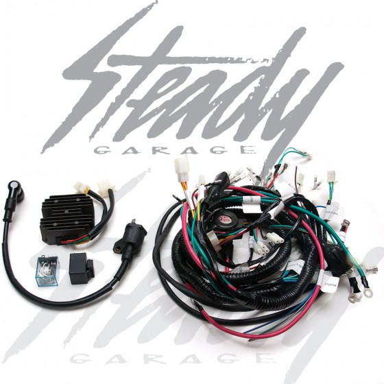 ATR G4 GY6 Engine Swap Harness - Honda Ruckus