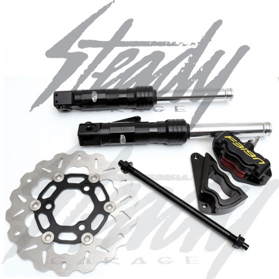 Feign Black Builder Honda Ruckus Disc Brake Kit