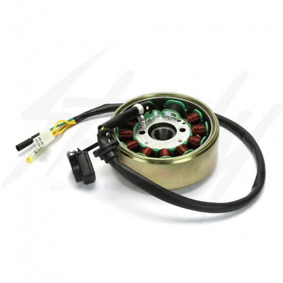GY6 150 Flywheel / Magnet Rotor 11 Pole with 11 pole Stator Combo