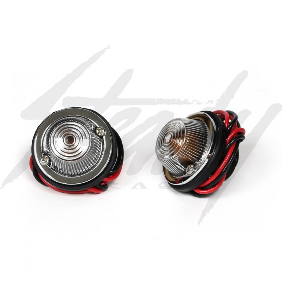 Kijima DUT Turn Signal Lights - Clear Lens