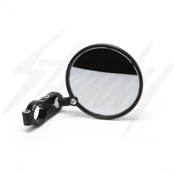 "CRG 3"" Hindsight Bar End Mirror - Black"
