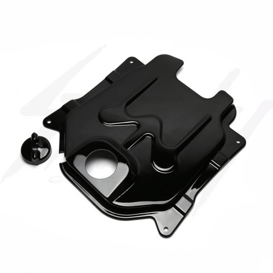 NCY Gas Tank Cover Honda Ruckus ABS Black