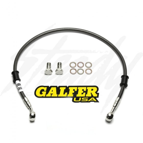 Galfer Racing SS Braided Front Brake Line - Kawasaki Z125 Pro