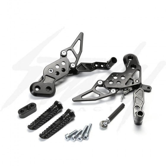 Driven TT Rear Sets for Kawasaki Z125 Pro