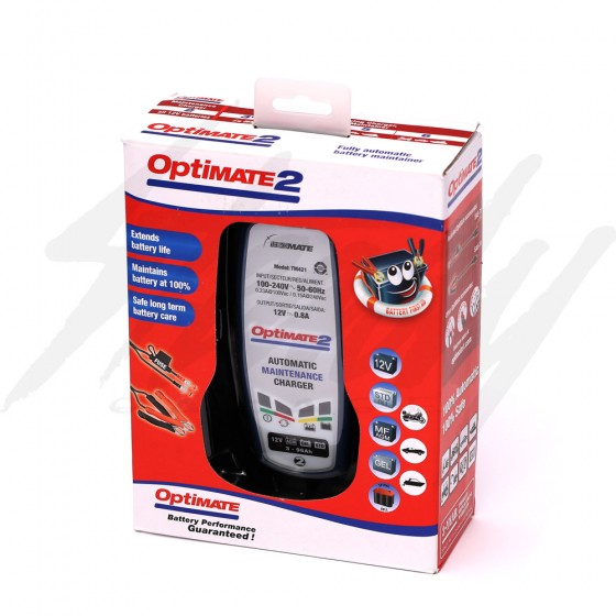 Optimate TM-471 Lithium Battery Charger /Maintainer.8A