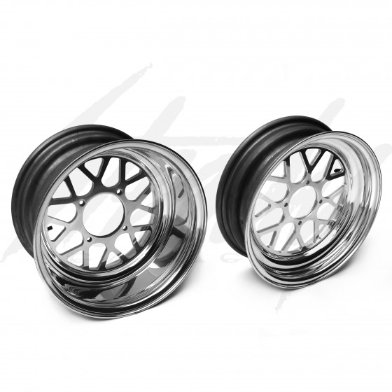 Machined Machines CCW2 Rim Set Honda Ruckus