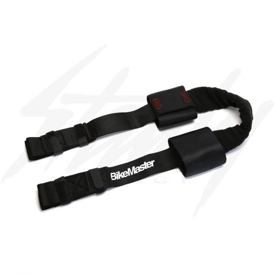 BikeMaster Bar Harness Tie Down Assist - Black