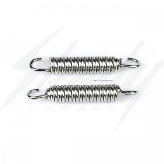 Chrome Exhaust Springs Swivel