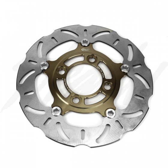 CR Racing 220mm Floating Front Brake Rotor Titanium Grom 125