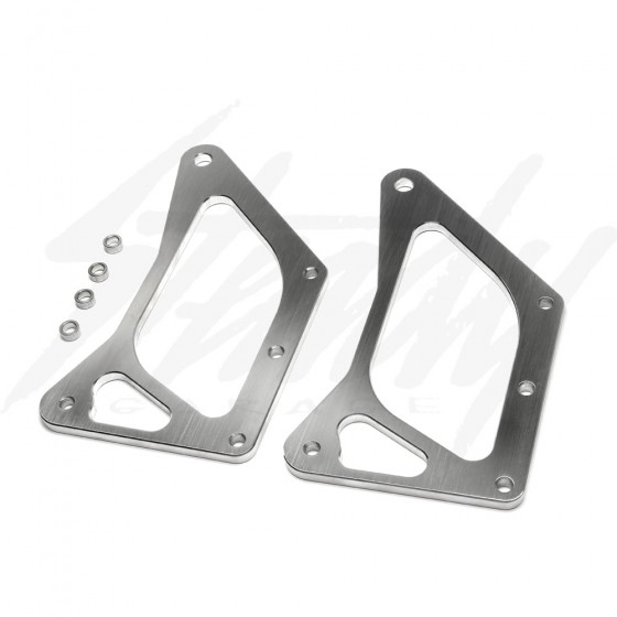 Composimo Honda Grom 125 TripleX Light Brackets for Rigid Industries SR Series Lights