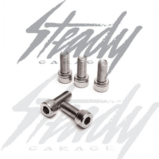 Metric Stainless Steel Socket Head Cap Screws M6-1.00x20mm