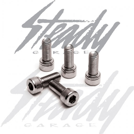 Metric Stainless Steel Socket Head Cap Screws M8-1.25x25mm