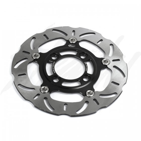CR Racing 220mm Floating Front Brake Rotor Black Grom 125