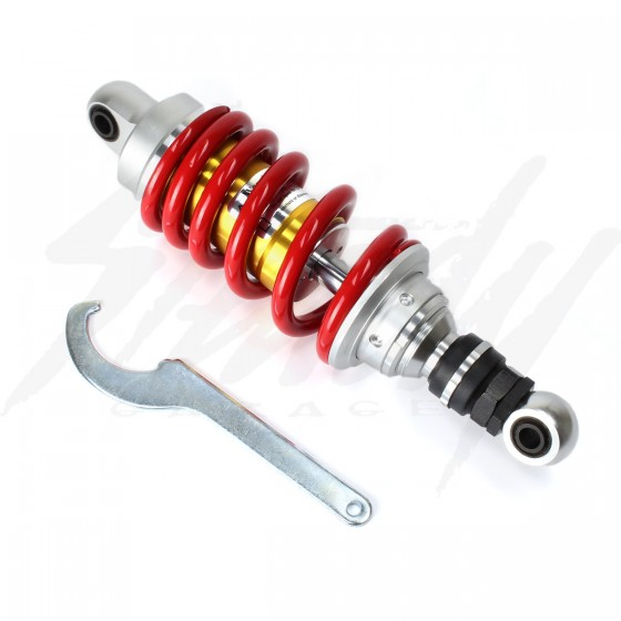 Gazi 255mm Supreme RX Adjustable Coilover Rear Shock Grom 125
