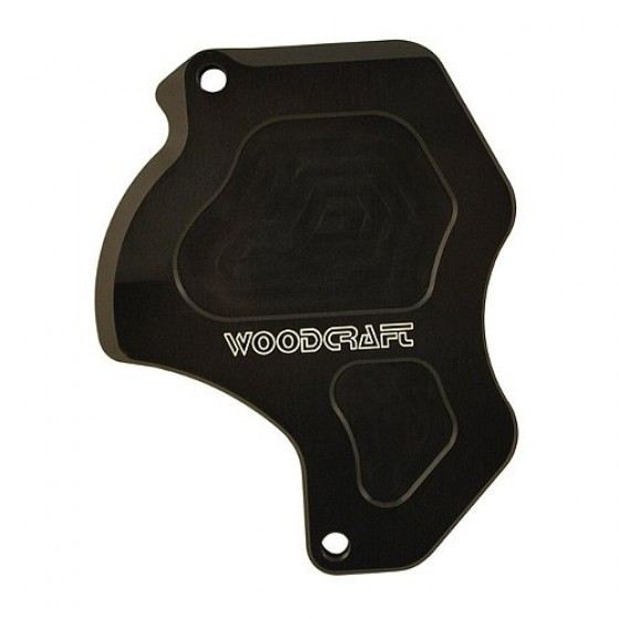 Woodcraft Honda Grom/MSX 125 Sprocket Cover - Black
