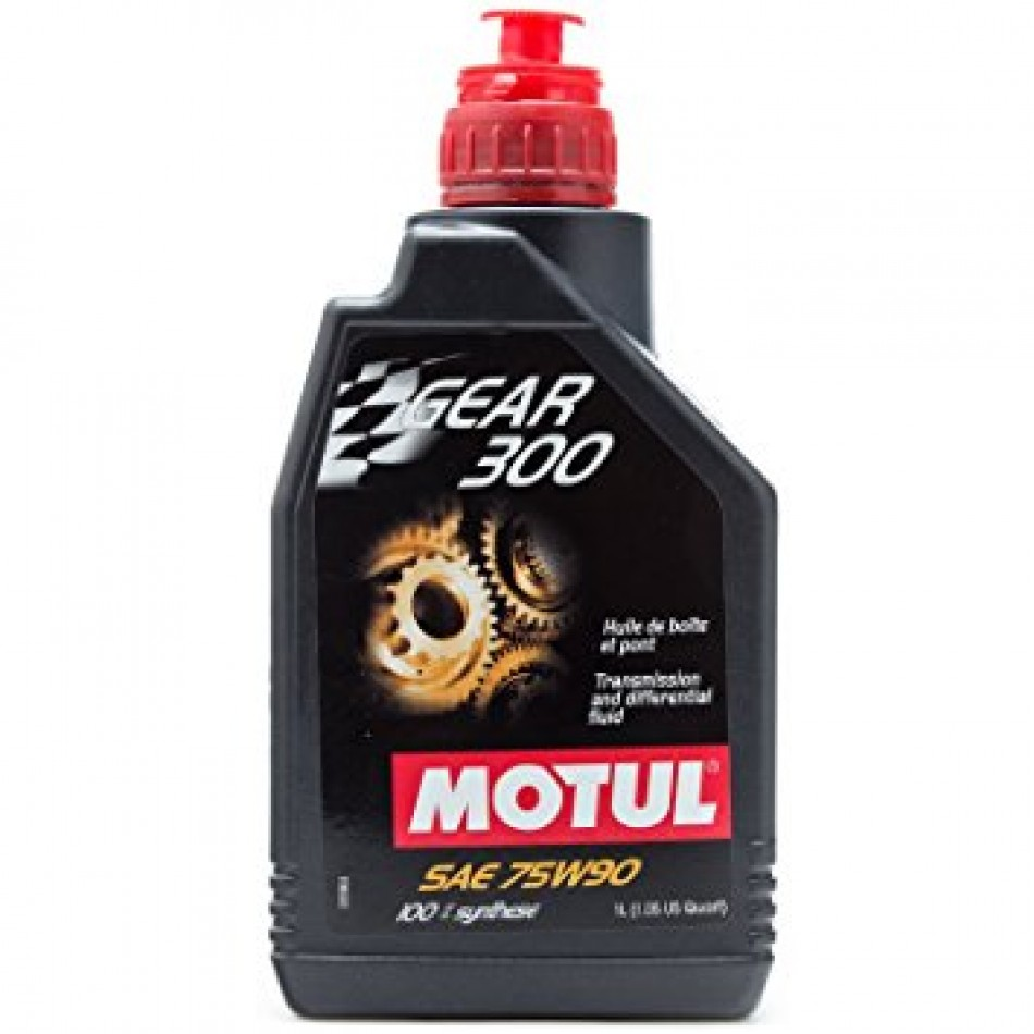 motul gear 300 75w90 synthetic gear oil 1 liter. Black Bedroom Furniture Sets. Home Design Ideas
