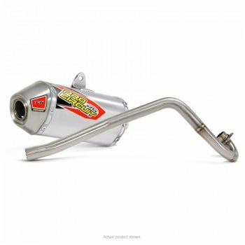 Pro Circuit T-6 Stainless Full Exhaust - Honda CRF110F (2013-2018)