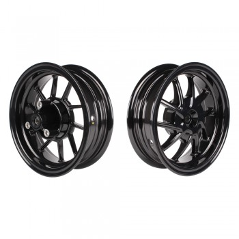 "NCY Honda Ruckus ""Hustler"" Wheel Set 10"" - Black"