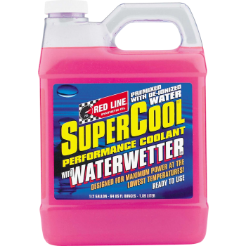 RED LINE SYNTHETIC OIL SuperCool with WaterWetter 64OZ