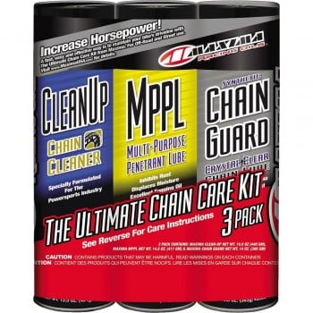 Maxima Racing Synthetic Chain Guard Care Kit