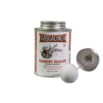 Gasgacinch Gasket Sealer and Belt Dressing, 4 oz