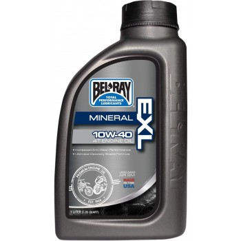 Bel Ray- 10w-40 EXL 4T Mineral Engine Oil