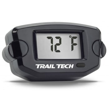 Black Trail Tech Temperature Meter - 10mm Fin Sensor