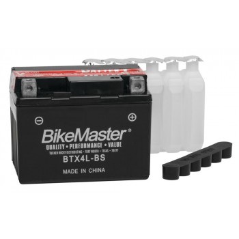 BikeMaster Maintenance Free Replacement Battery Honda Grom 125 - BTX4L-BS