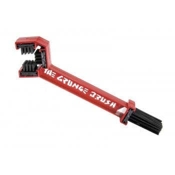 The Grunge Brush Chain Cleaner with 4oz Degreaser