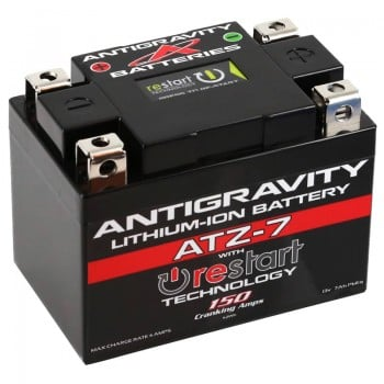 Antigravity ATZ-7 RE-START Battery - Honda Grom SSR Razkull Kawi Z125 Pro