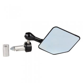 Driven Racing Halo Bar End Mirror - Black