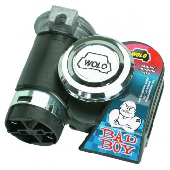 WOLO Bad Boy Horn 12 Volt 123.5 Decibels 530 / 680 Hz