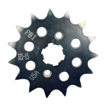 PBI Sprockets Steel Alloy Honda Grom Front Sprocket 428 Chain