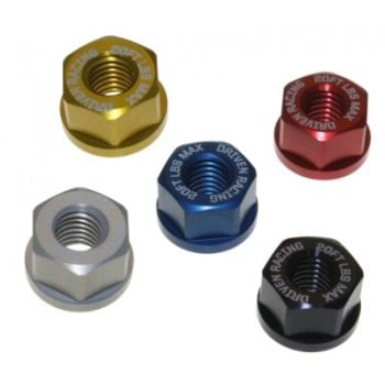 Driven Racing Sprocket Nuts 4 Pack M10x1.25 - Kawasaki Z125