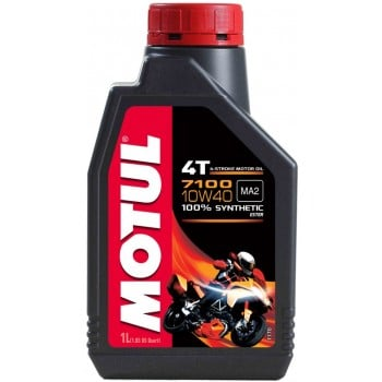 Motul 7100 100% Synthetic 4T 10W40 Ester Motor Oil - 1 Liter