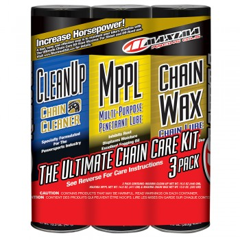 Maxima Racing Chain Wax Care Kit
