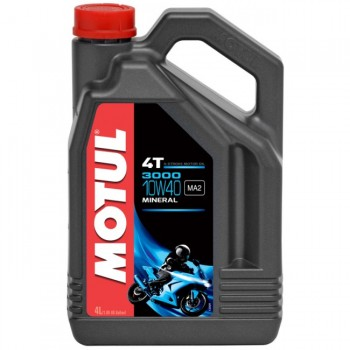 Motul 4T 3000 Petroleum Engine Oil 10W40 - 1 Gallon