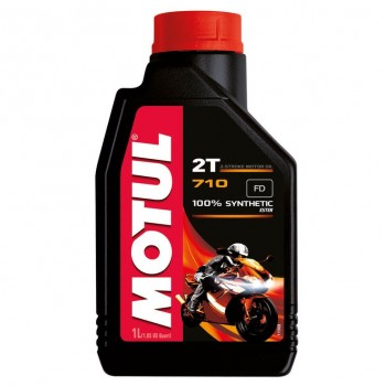Motul 710 Synthetic 2-Stroke Motor Oil - 1 Liter