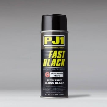 PJ1 Fast Black Porcelain Hard Gloss Black 12oz