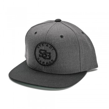 Steady Crest Cap (Snap Back)