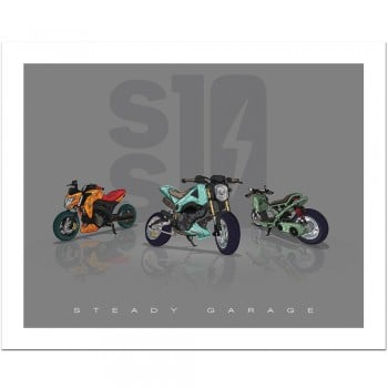Steady Garage SS10 (Squad) Poster Print