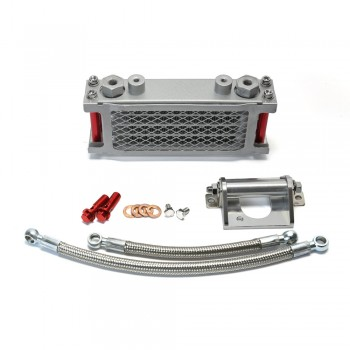 Complete Bolt On Oil Cooler Kit Honda Grom 125