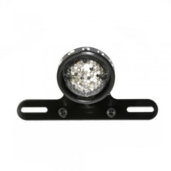 "MDH Universal 2.75"" Round LED Tail light with License bracket"