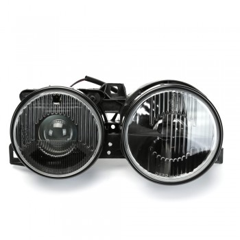 BMW E30 Smiley Smoked Crosshair Projector Headlights