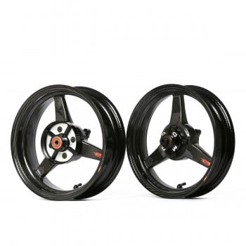 "BST Carbon Fiber Grom Rim Set - 4"" Wide Rear"